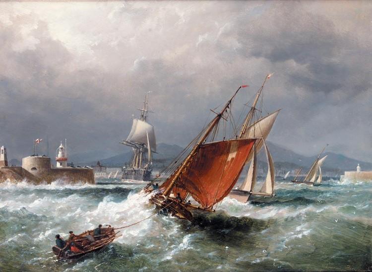 Морские полотна Ричарда Бриджеса Бичи